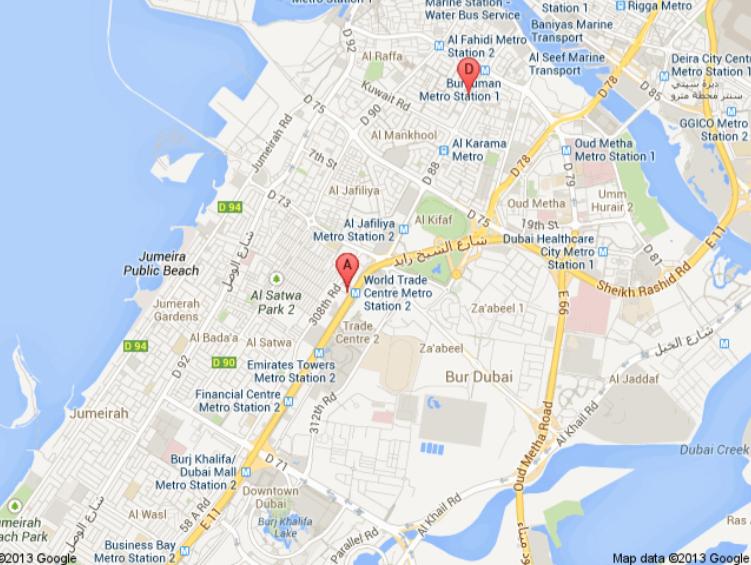 2nd Epomec 2015 – Abu Dhabi Map Dubai